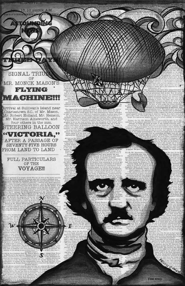 """""""Poe's Balloon Hoax"""""""